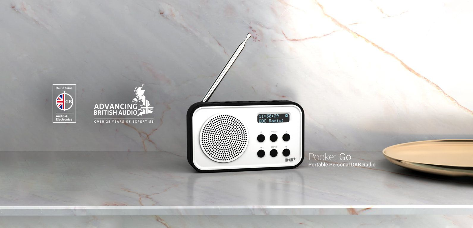Pocket Go DAB Radio