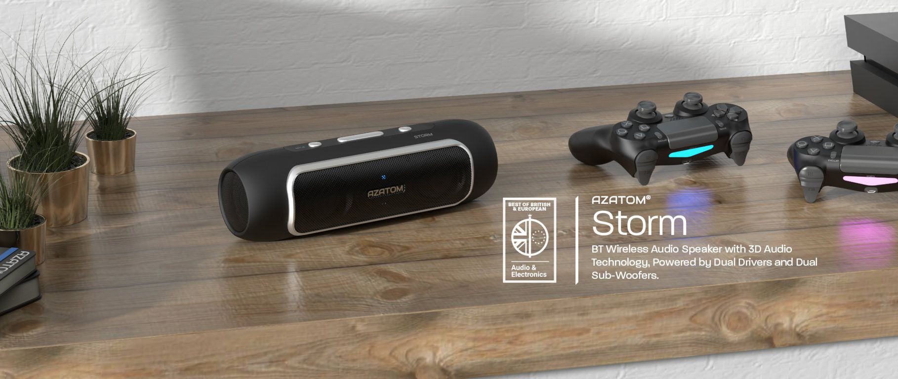 Storm Bluetooth Speakers