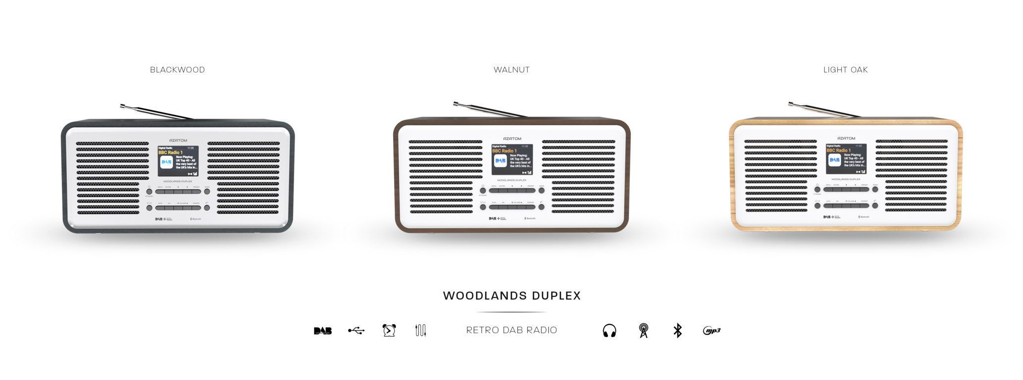 Woodlands Duplex DAB Radio
