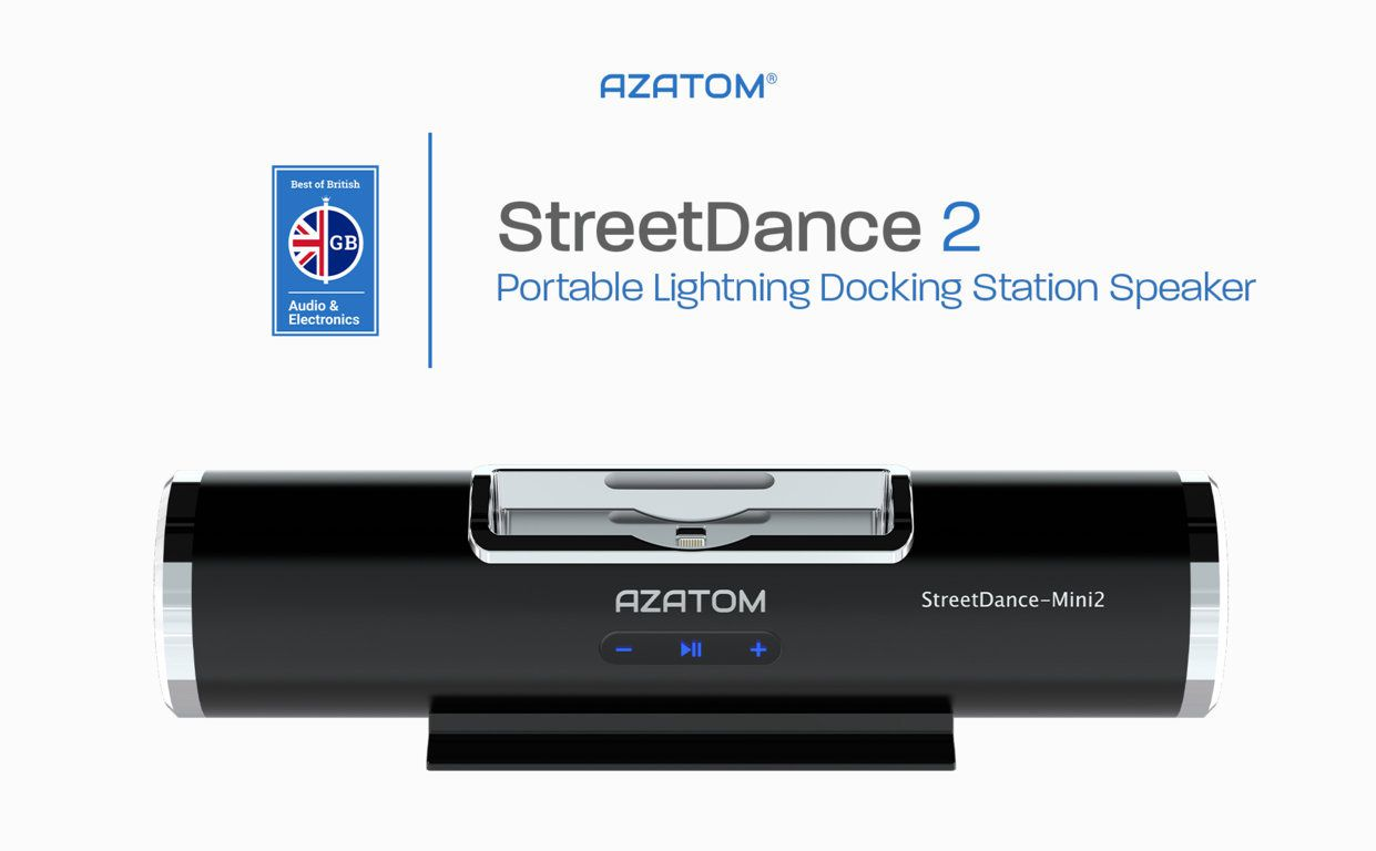 StreetDance 2 Portable Lightning Docking Station