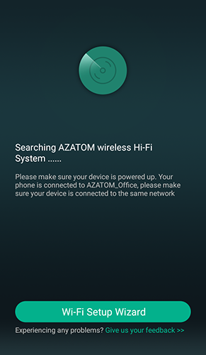 Searching for Azatom device